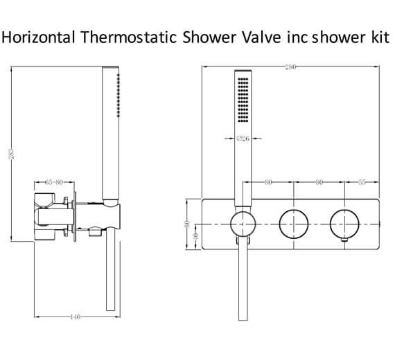Technical drawing QS-V103410 / RAKAMA3305C