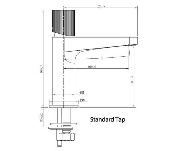 Technical drawing QS-V103403 / RAKAMA3001C