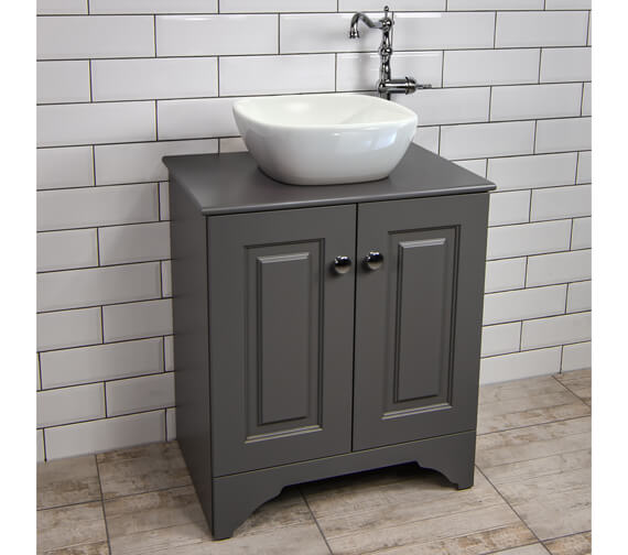 Silverdale Victorian 670mm Unit With Wash Bowl