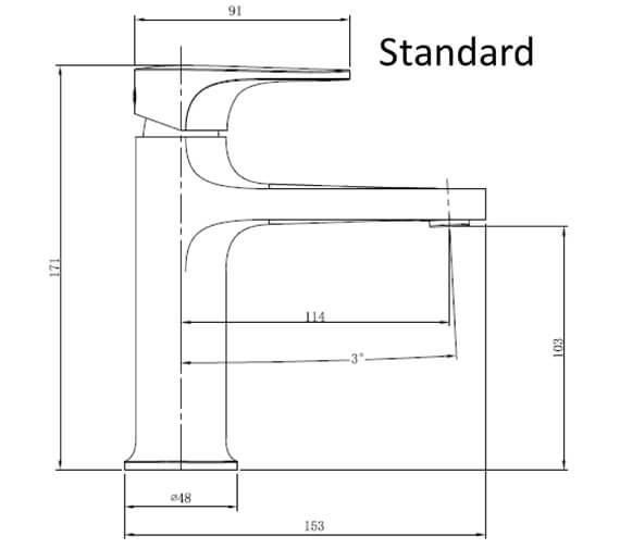 Technical drawing QS-V103418 / RAKPOR3001C