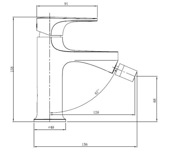 Technical drawing QS-V103420 / RAKPOR3006C