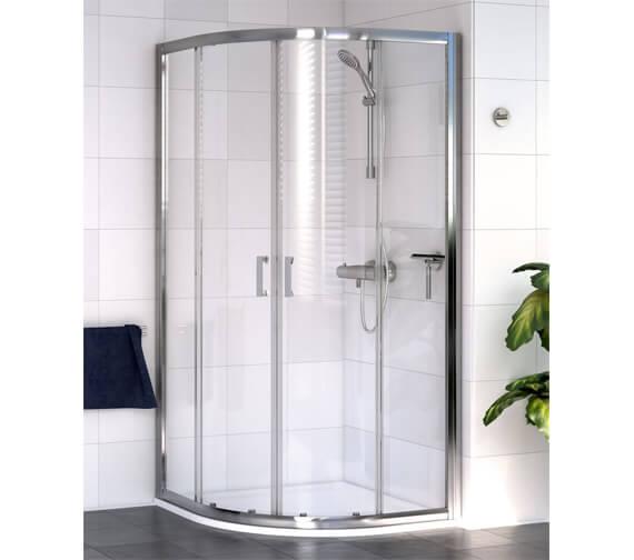 Aqualux Shine 6 Quadrant 1850mm High Shower Enclosure