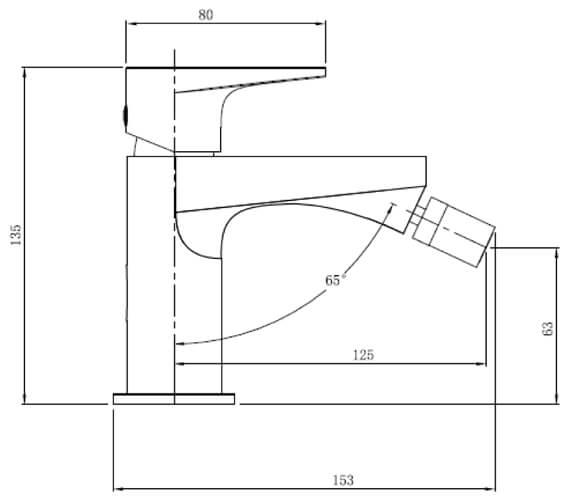 Technical drawing QS-V103413 / RAKISH3006C