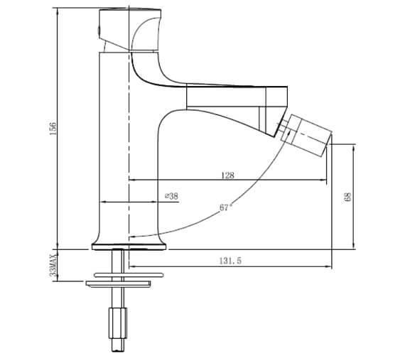 Technical drawing QS-V103424 / RAKPOS3006C