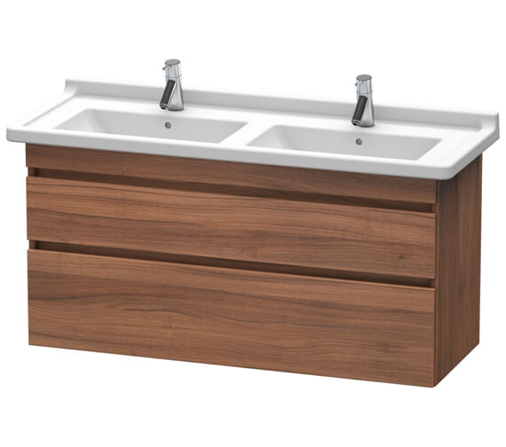 Duravit DuraStyle 1200mm Wide Two Drawer Vanity Unit For Starck 3 Double Basin