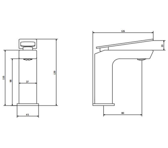 Technical drawing QS-V100392 / ZR03_114DNC