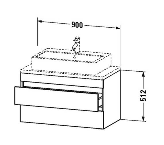 Technical drawing QS-V101354 / DS530502121