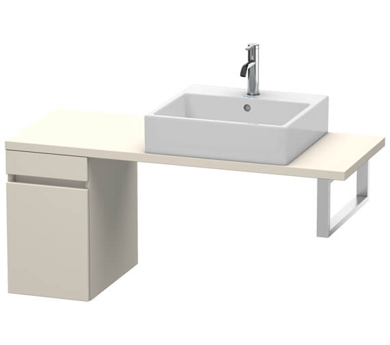 Duravit DuraStyle Compact Low Cabinet For Console With 1 Pull-Out Compartment