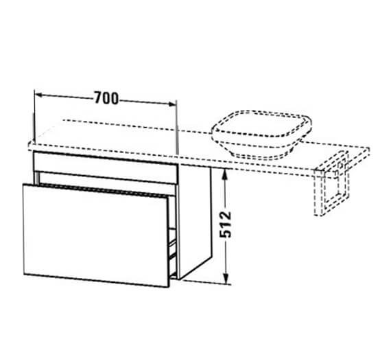 Technical drawing QS-V101355 / DS532009191