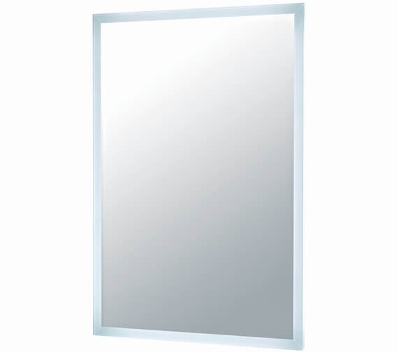Harrison Bathrooms Mosca LED Mirror With Demister Pad And Shaver Socket