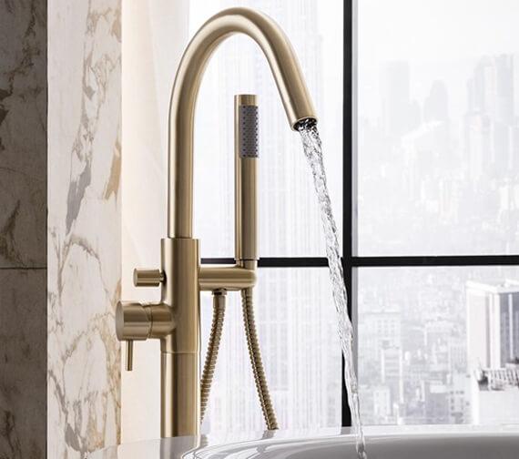 Crosswater MPRO Floor Standing Single Lever Bath Shower Mixer Tap