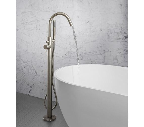 Additional image of Crosswater MPRO Floor Standing Single Lever Bath Shower Mixer Tap