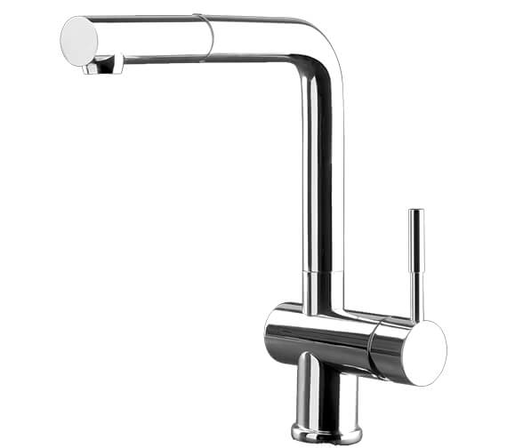 Gessi Oxygene 276mm High Pull Out Dual Spray Kitchen Mixer Tap