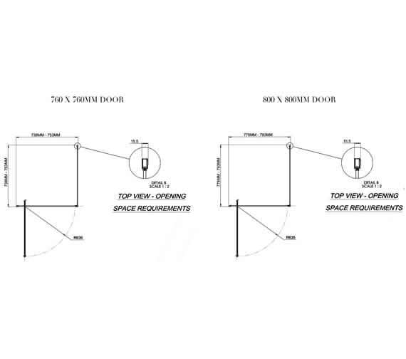 Technical drawing QS-V34066 / 1160756