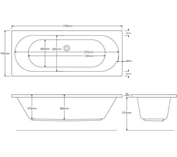 Technical drawing QS-V11208 / CASCADE16X7DE