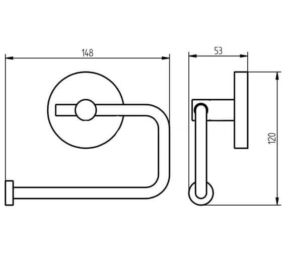 Technical drawing QS-V104171 / 1190832