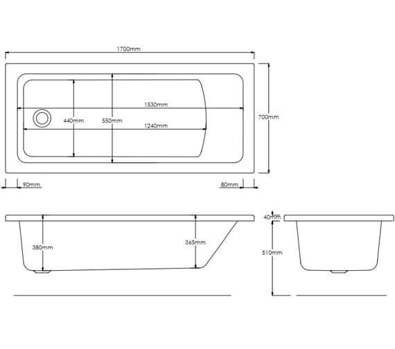 Technical drawing QS-V11207 / SOLARNA17X7SE