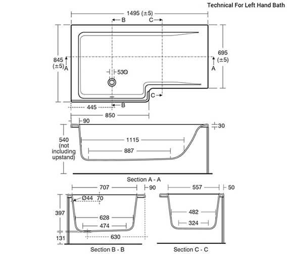 Technical drawing QS-V26676 / E049501