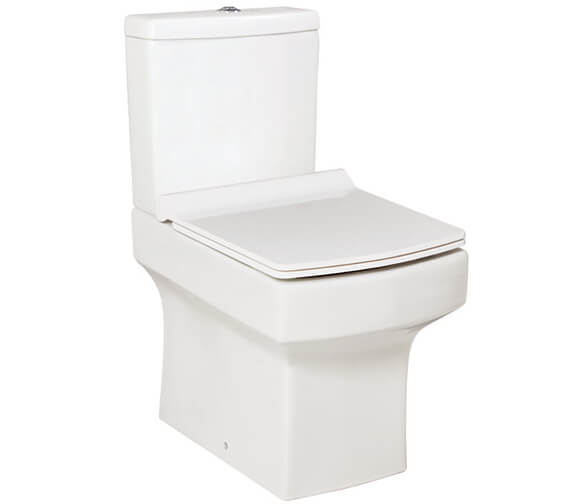 Harrison Bathrooms Denza Close Coupled WC Pan With Cistern