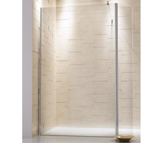 Harrison Bathrooms A8 275mm Full Length Hinge Profie Deflctor Panel