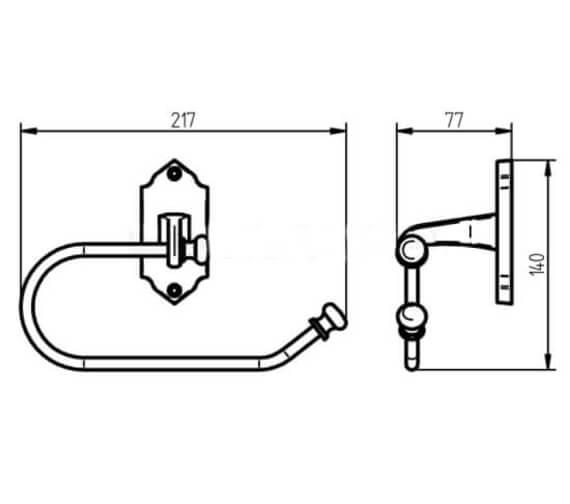 Technical drawing QS-V104159 / 1192351
