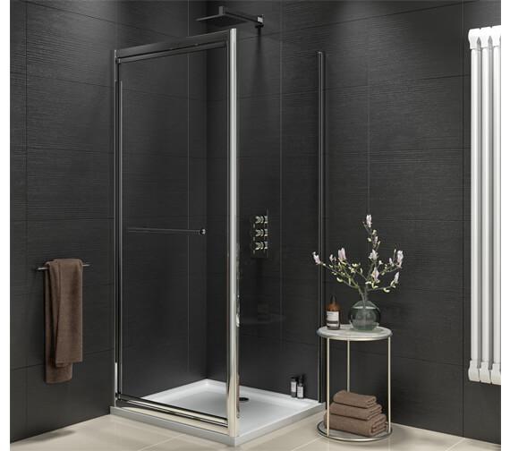 Harrison Bathrooms A8 1900mm Height Infold Door