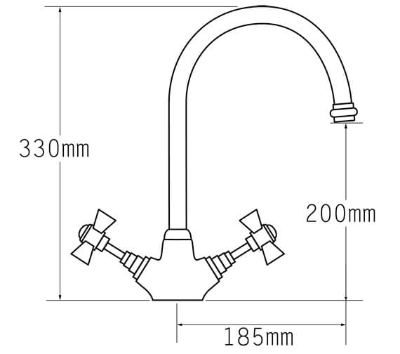 Technical drawing QS-V31689 / 1080