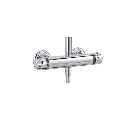 Tre Mercati Exposed Thermostatic Double Ended Shower Valve