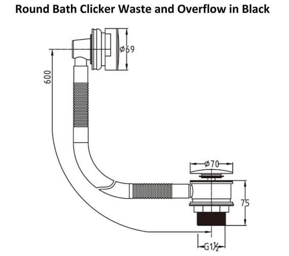 Technical drawing QS-V103373 / RAKL9022RB