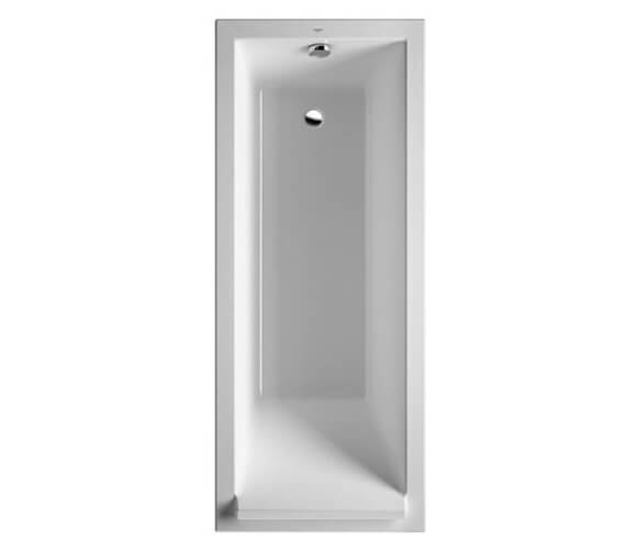 Duravit Starck 1600 x 700mm Rectangular Bath With Support Frame - 700344