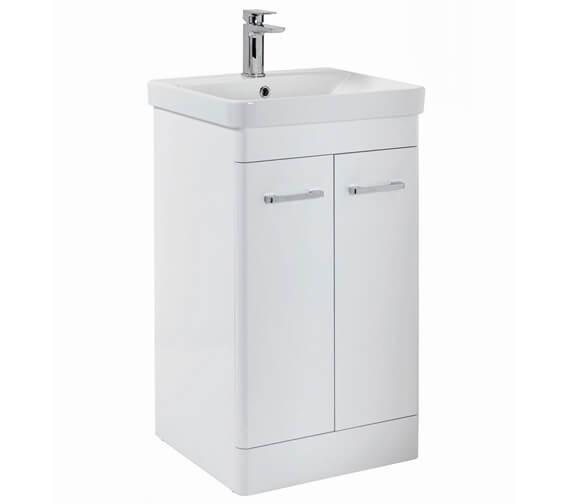 Harrison Bathrooms Eve Floor Standing 850mm Height Vanity Unit