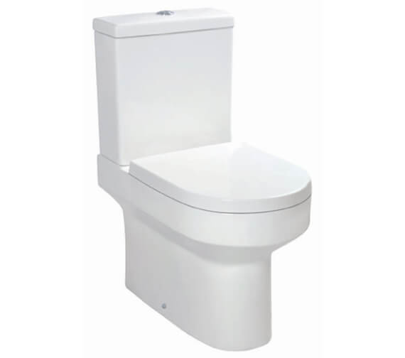 Harrison Bathrooms Omni Closed Couple WC Pan With Cistern And Seat