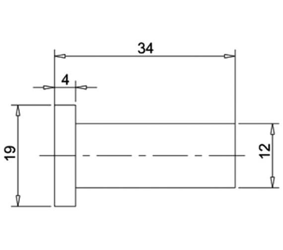 Technical drawing QS-V27531 / PRO021C