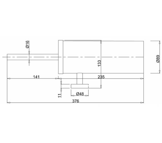 Technical drawing QS-V27535 / PRO025C