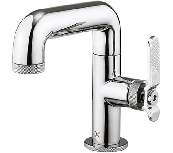 Crosswater Union Deck Mounted Basin Mixer Tap With No Pop-Up-Waste