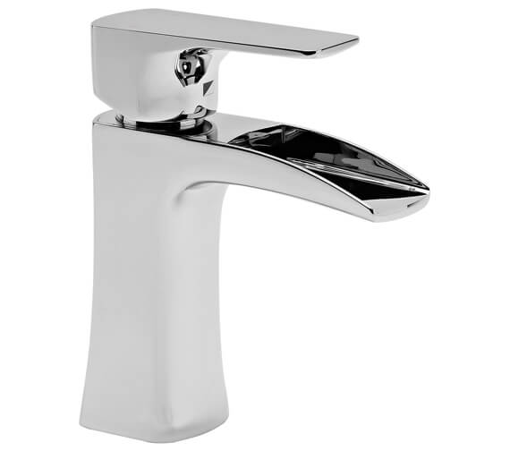 Additional image of Roper Rhodes Sign Open Spout Basin Mixer Tap With Click Waste