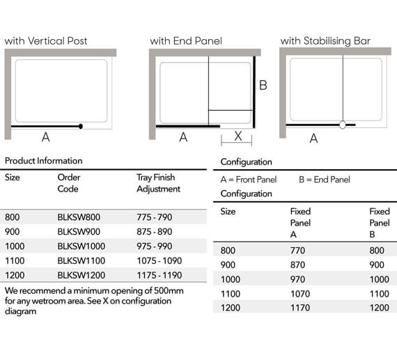 Technical drawing QS-V103376 / BLKSW700