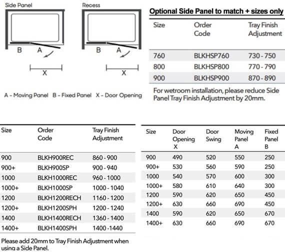 Technical drawing QS-V103375 / BLKH900REC