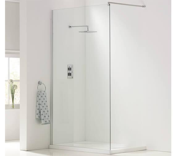 Harrison Bathrooms A8 Walk In Wetroom Panels