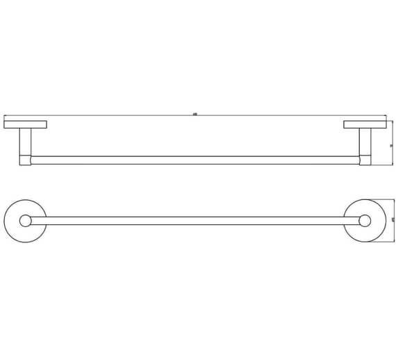Technical drawing QS-V104165 / 1190856