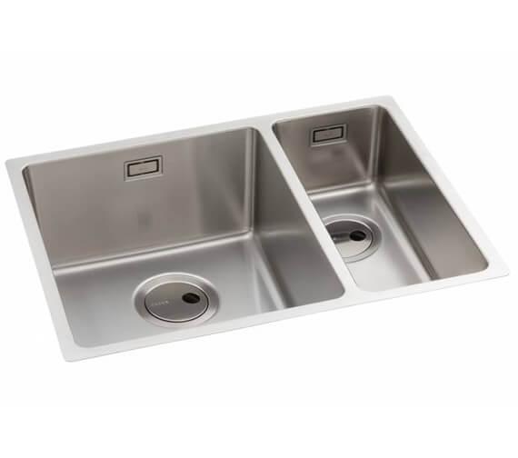 Abode Matrix R15 1.5 Stainless Steel Kitchen Sink Bowl