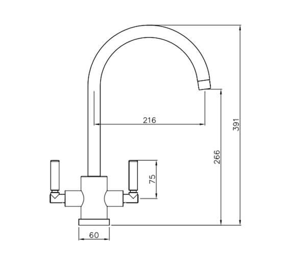 Technical drawing QS-V42134 / AT1053