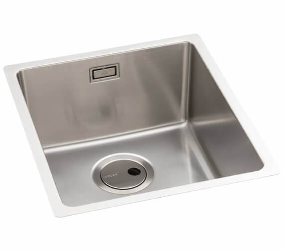 Abode Matrix R15 1.0 Stainless Steel Kitchen Sink Bowl