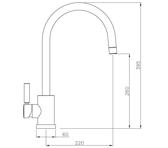 Technical drawing QS-V42135 / AT1092