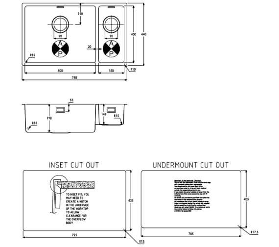 Technical drawing QS-V104077 / AW5125