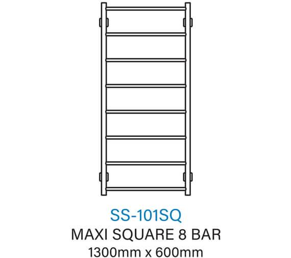 Technical drawing QS-V54363 / SS-101SQE