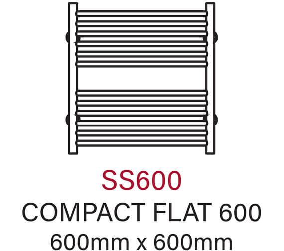 Technical drawing QS-V55974 / SS600E