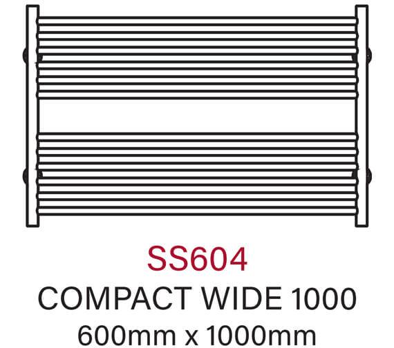 Technical drawing QS-V54352 / SS604