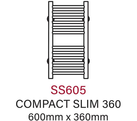 Technical drawing QS-V54338 / SS605