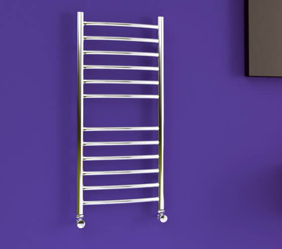 SBH Midi Slim Curve Towel Radiator 360mm x 810mm